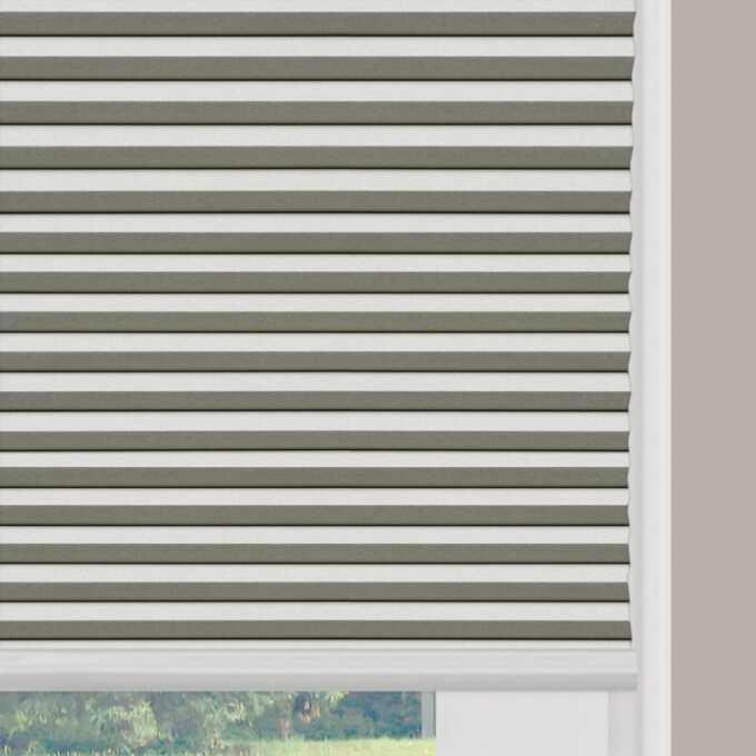 Designer Double Cell Blackout Honeycomb Shades 4368