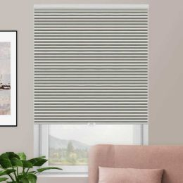 Designer Double Cell Blackout Honeycomb Shades