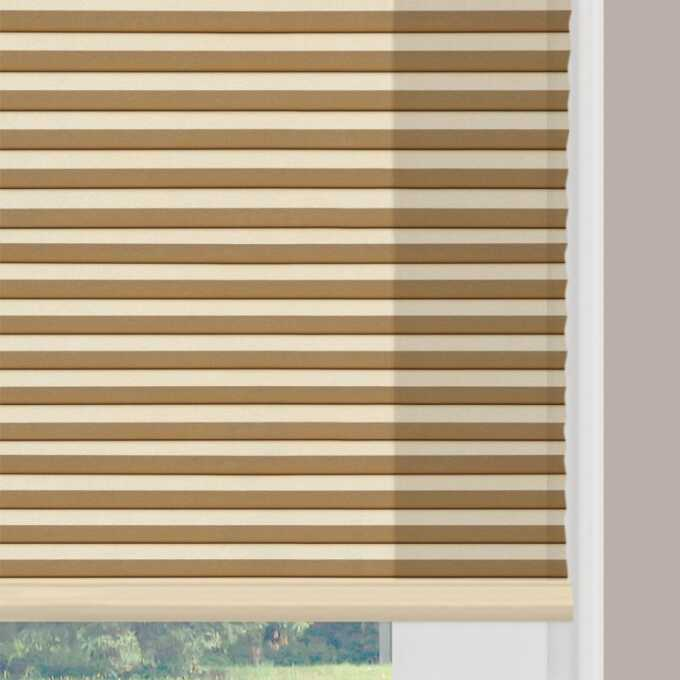 Designer Double Cell Light Filtering Honeycomb Shades 4351