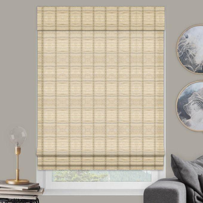 Designer Island Woven Wood Shades 7550