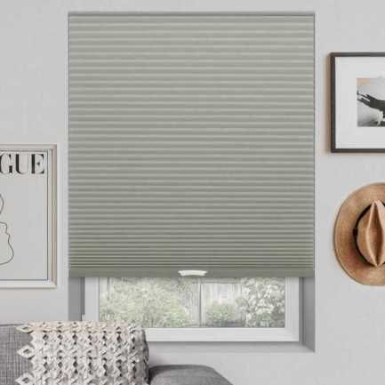 Designer Luxe Cordless Blackout Honeycomb Shades 8682 Thumbnail