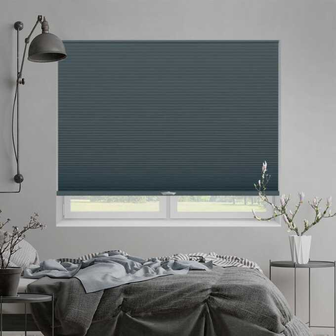 Designer Luxe Cordless Blackout Honeycomb Shades 8687