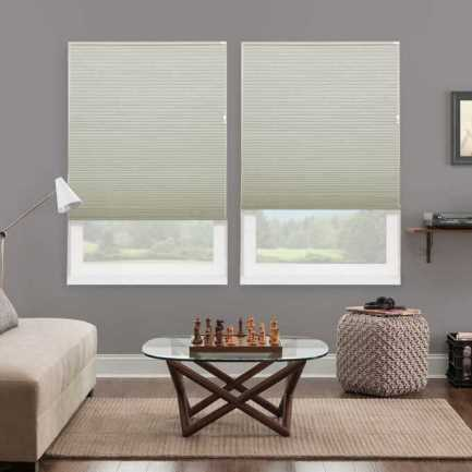 Designer Luxe Cordless Blackout Honeycomb Shades 8688 Thumbnail