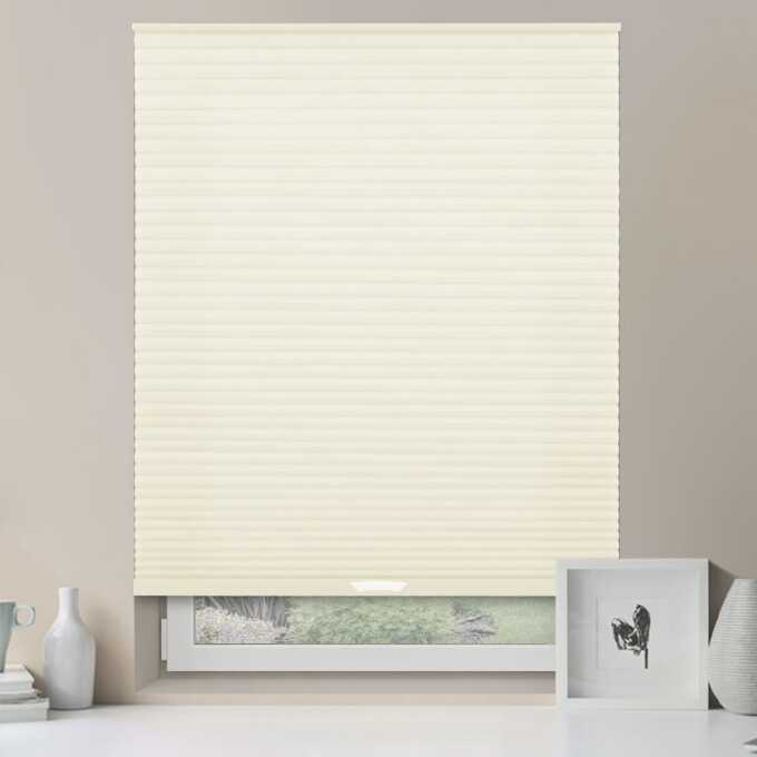 Designer Luxe Cordless Light Filtering Honeycomb Shades 8653