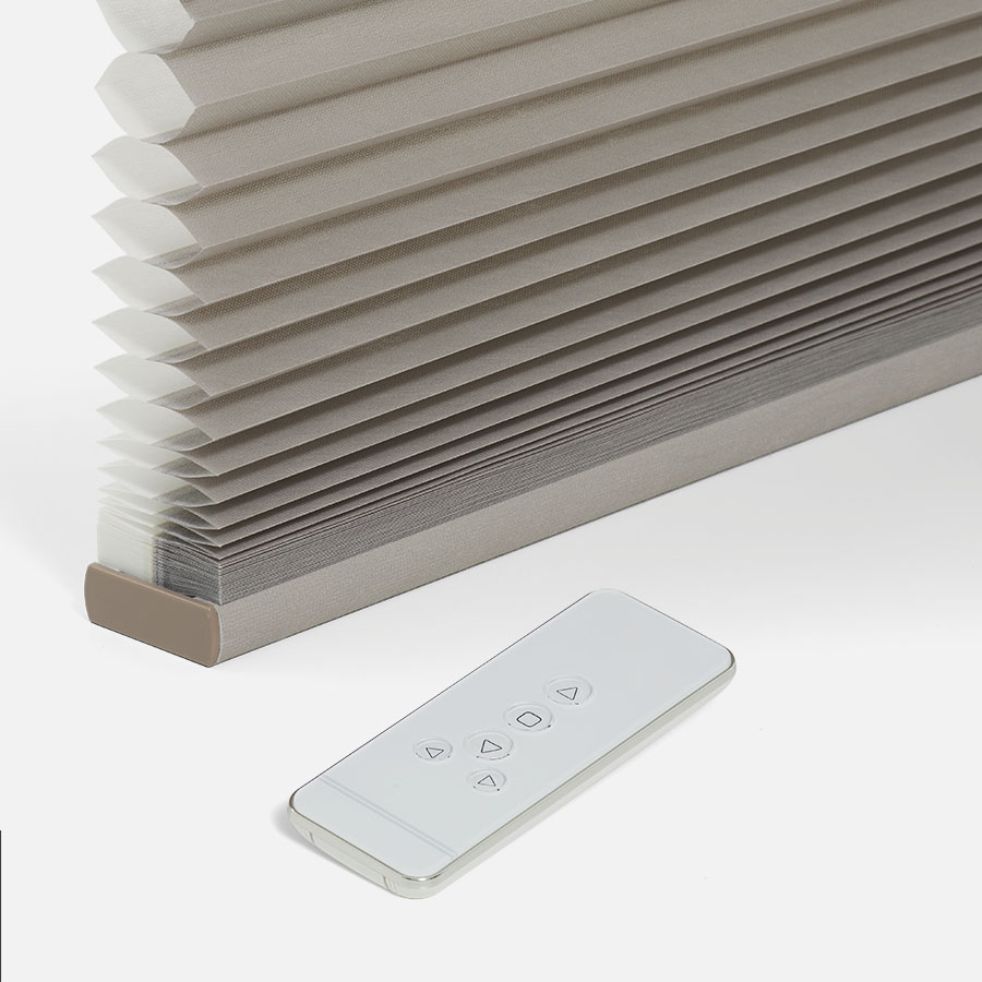 Designer Luxe Cordless Light Filtering Honeycomb Shades 8665