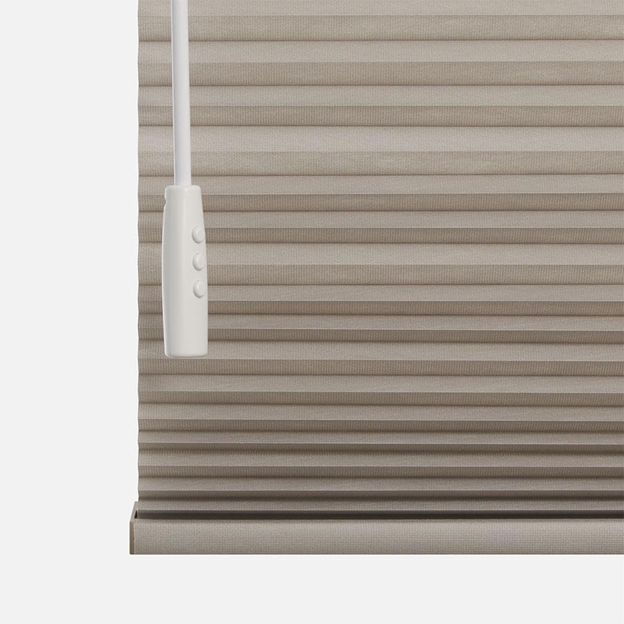 Designer Luxe Cordless Light Filtering Honeycomb Shades 8671
