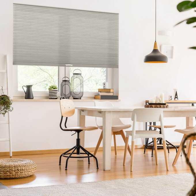 Designer Luxe Cordless Light Filtering Honeycomb Shades 8656