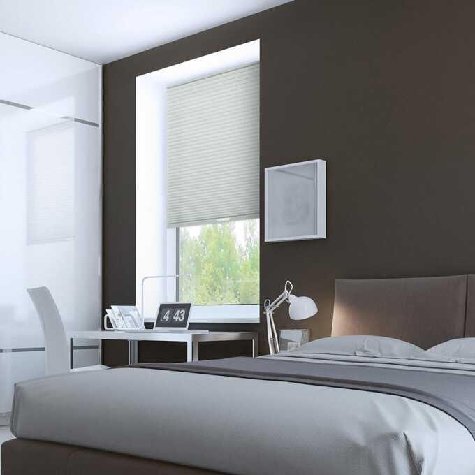 Designer Luxe Cordless Light Filtering Honeycomb Shades 8659