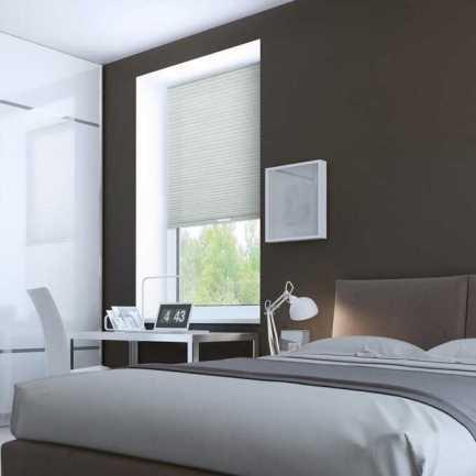 Designer Luxe Cordless Light Filtering Honeycomb Shades 8659 Thumbnail