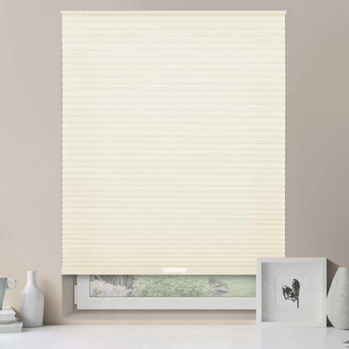 Designer Luxe Cordless Light Filtering Honeycomb Shades