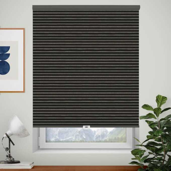 Designer Single Cell Blackout Honeycomb Shades 8830