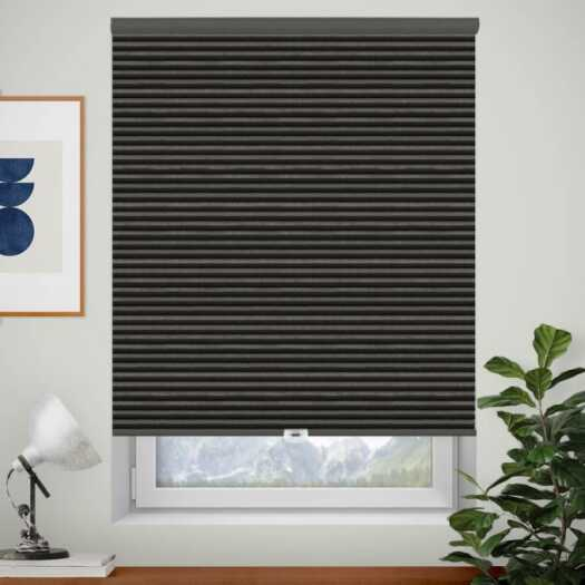 Designer Single Cell Blackout Honeycomb Shades 8830 Thumbnail
