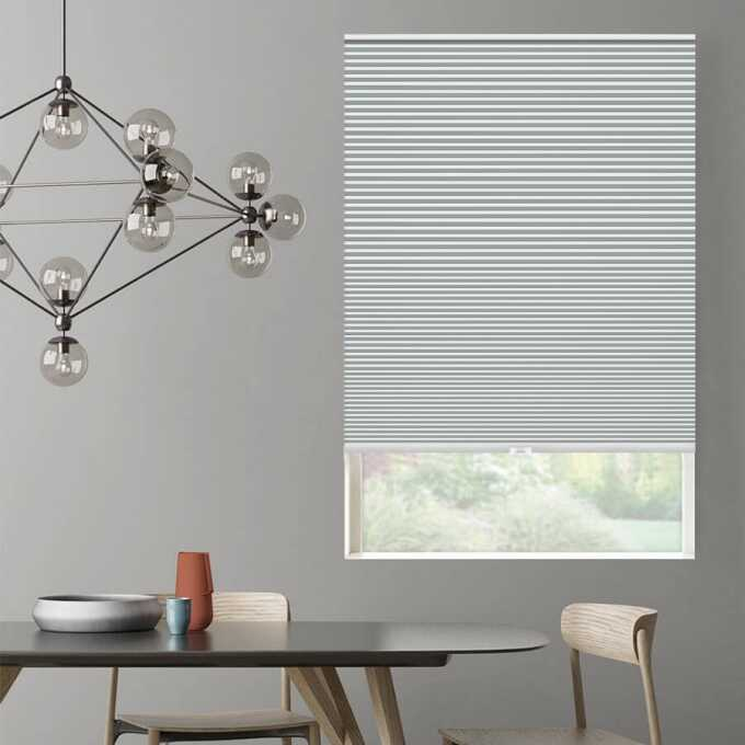 Designer Single Cell Blackout Honeycomb Shades 8832