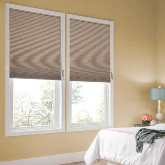 Designer Single Cell Blackout Honeycomb Shades 8833 Thumbnail