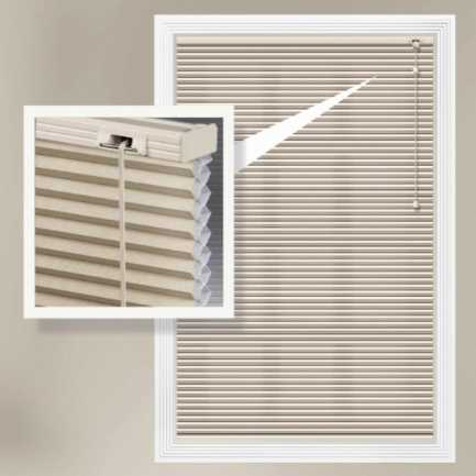 Designer Single Cell Blackout Honeycomb Shades 8864 Thumbnail