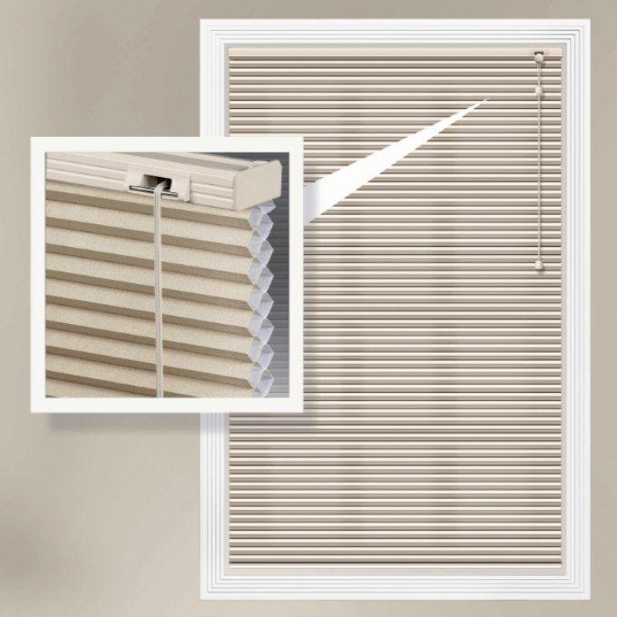 Designer Single Cell Light Filtering Honeycomb Shades 8863