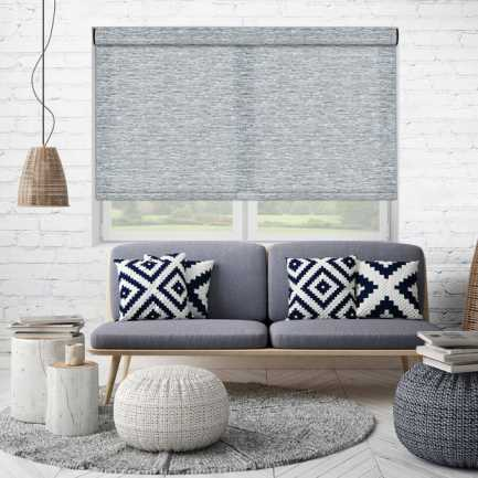 Designer Woven Light Filtering Roller Shades 7685 Thumbnail