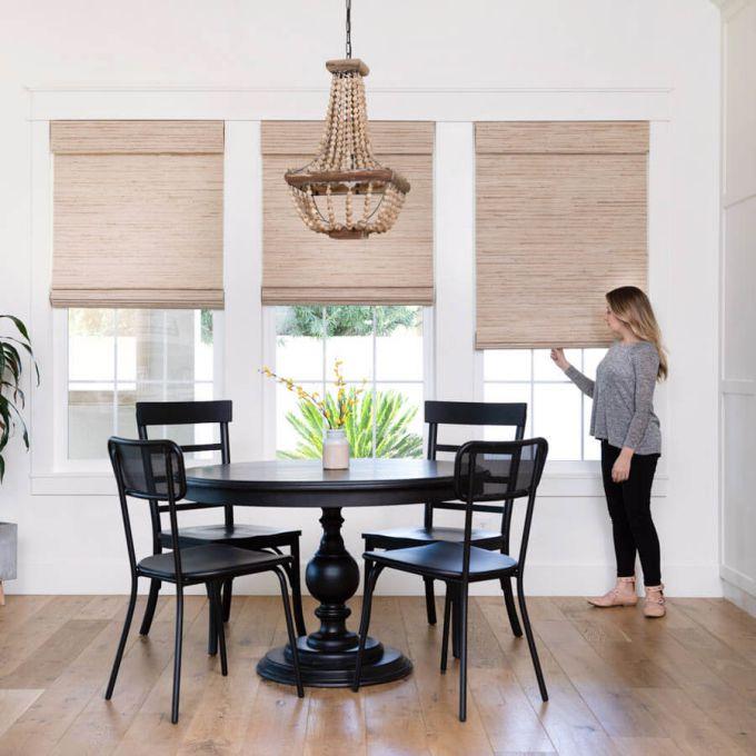 Designer Woven Wood/Bamboo Shades 8592