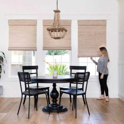 Designer Woven Wood/Bamboo Shades 8592 Thumbnail