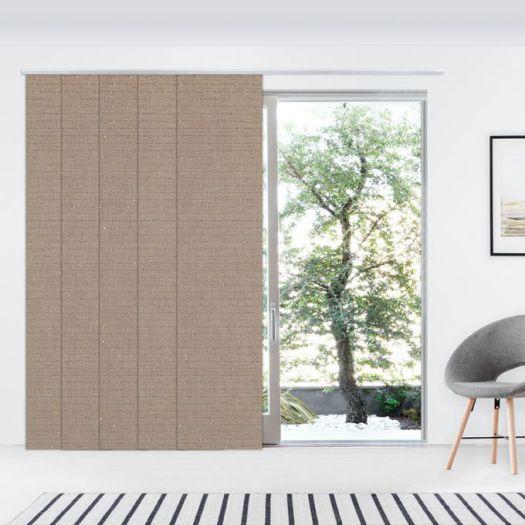 Panneaux coulissants de luxe en toile solaire 3% 7349 Thumbnail