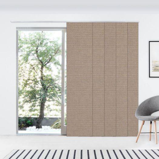 Panneaux coulissants de luxe en toile solaire 3% 7350 Thumbnail