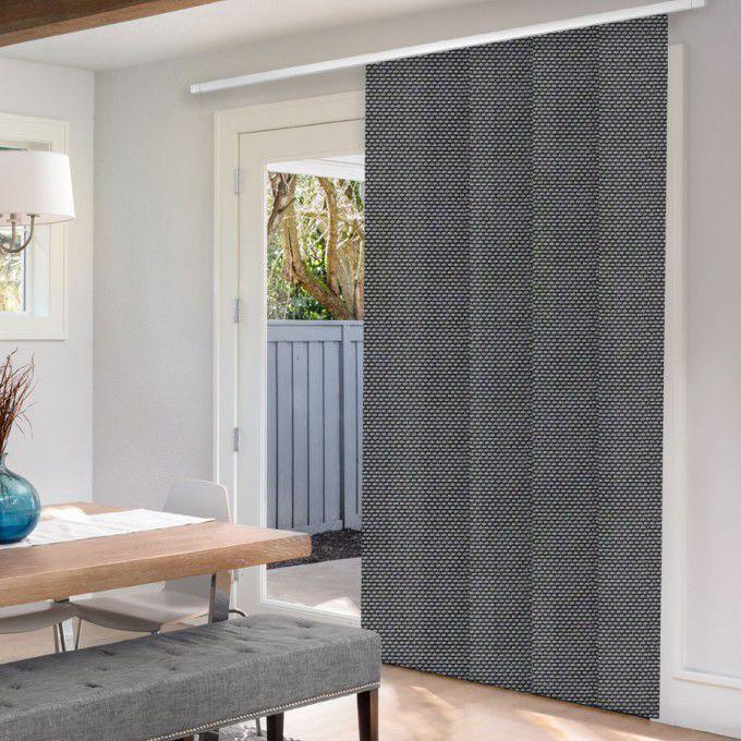 Panneaux coulissants de luxe en toile solaire 5% 5791