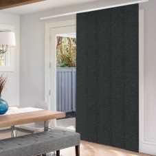 Panneaux coulissants noircissants en tissu de luxe