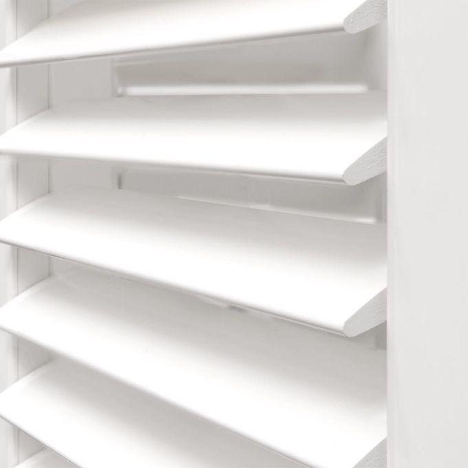 Persiennes en bois composite de luxe 8565
