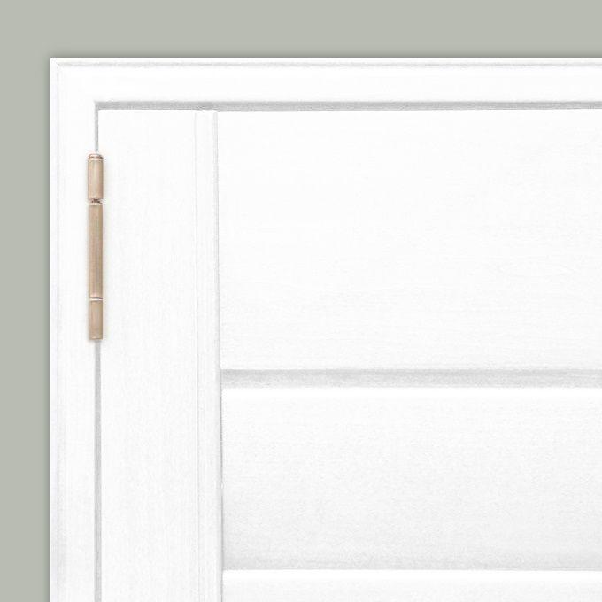 Persiennes en bois composite de luxe 8566