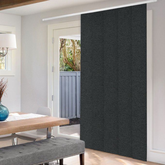Premium Blackout Fabric Panel Track Blinds