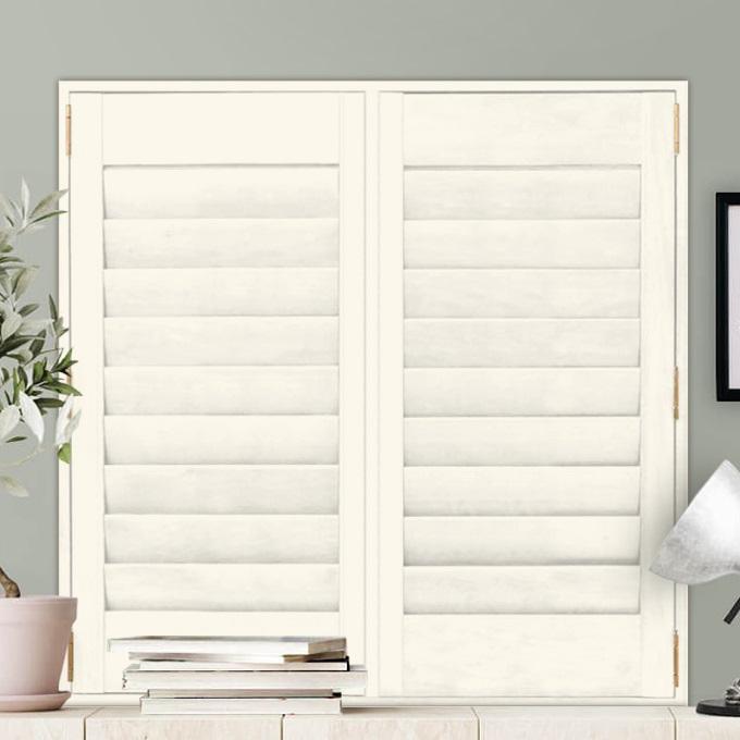 Premium Composite Wood Shutters 8563
