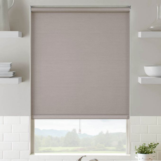 Premium Light Filtering Fabric Roller Shades 4159