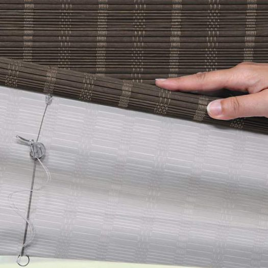 Premium Woven Wood/Bamboo Shades 8324 Thumbnail