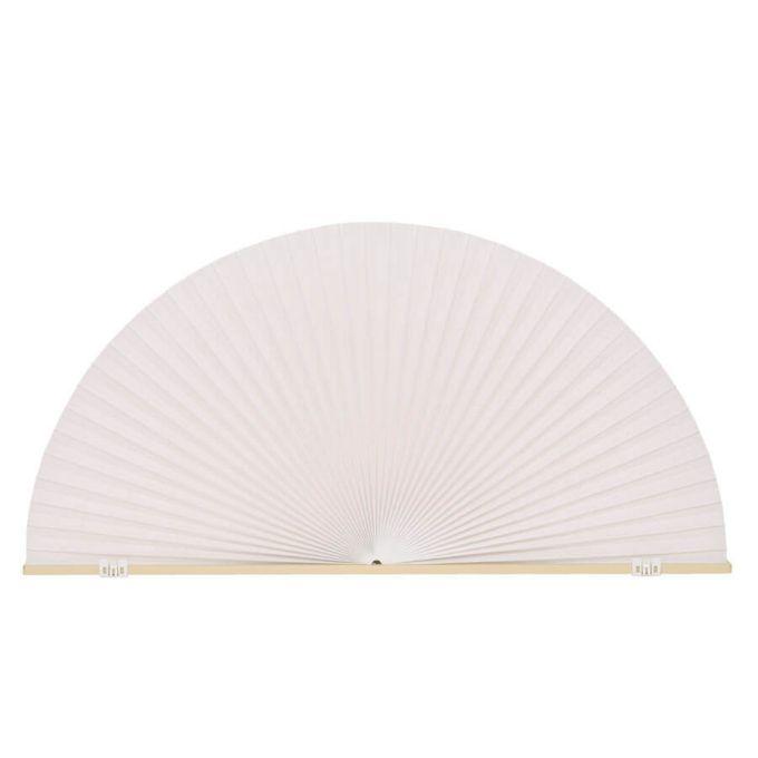 Stores cellulaires filtres de lumière à cellule simple pour fenêtres en arche 7175