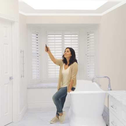 Select Light Filtering Skylight Shades 7406 Thumbnail