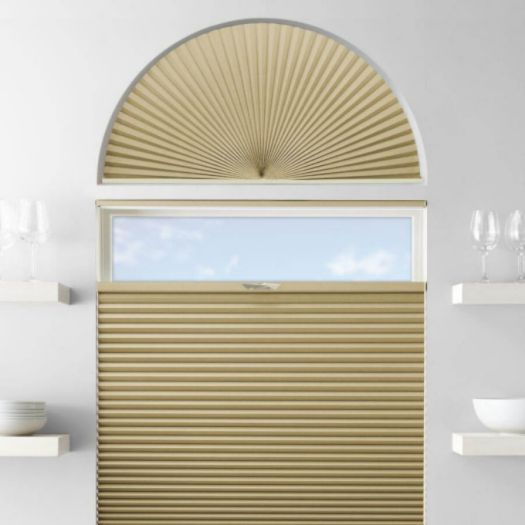 Single Cell Blackout Arch Window Shades 7305 Thumbnail