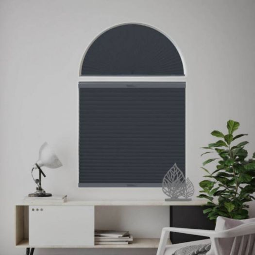 Single Cell Blackout Arch Window Shades 7312 Thumbnail