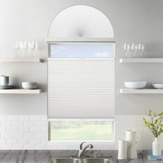 Single Cell Blackout Arch Window Shades 7315 Thumbnail