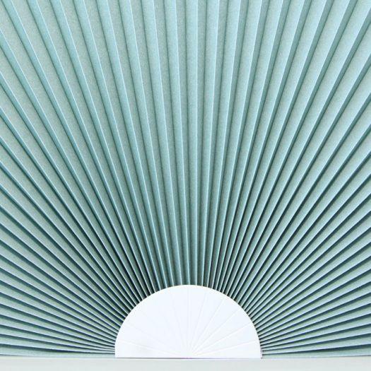 Stores cellulaires filtres de lumière à cellule double pour fenêtres en arche 7335 Thumbnail