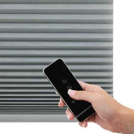 Stores cellulaires noircissants sans cordon luxe Décorateur 8690 Thumbnail