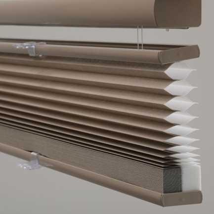 Stores cellulaires sans cordon avec ascendant/descendant filtre de lumière avantage 6786 Thumbnail