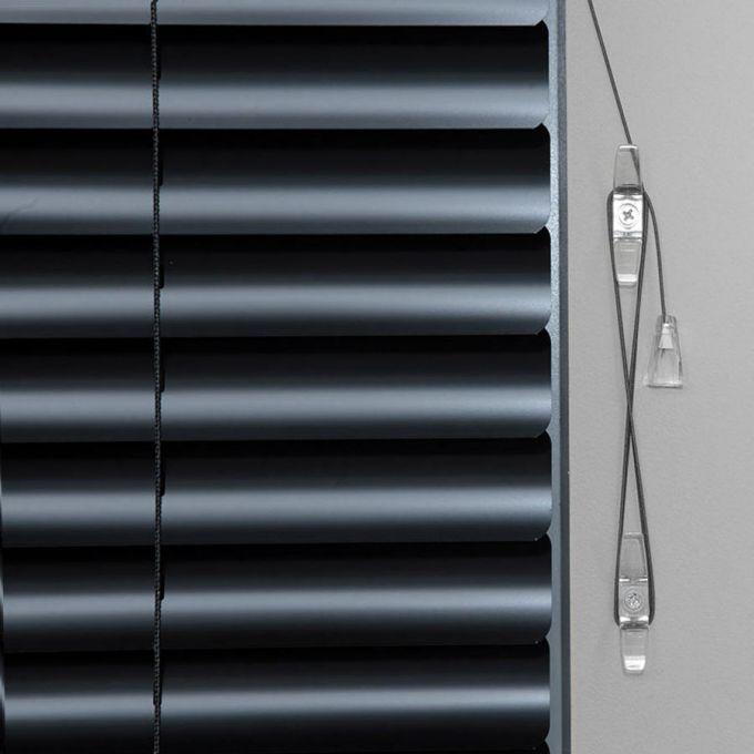 Stores en aluminium de luxe de 2 po 6000