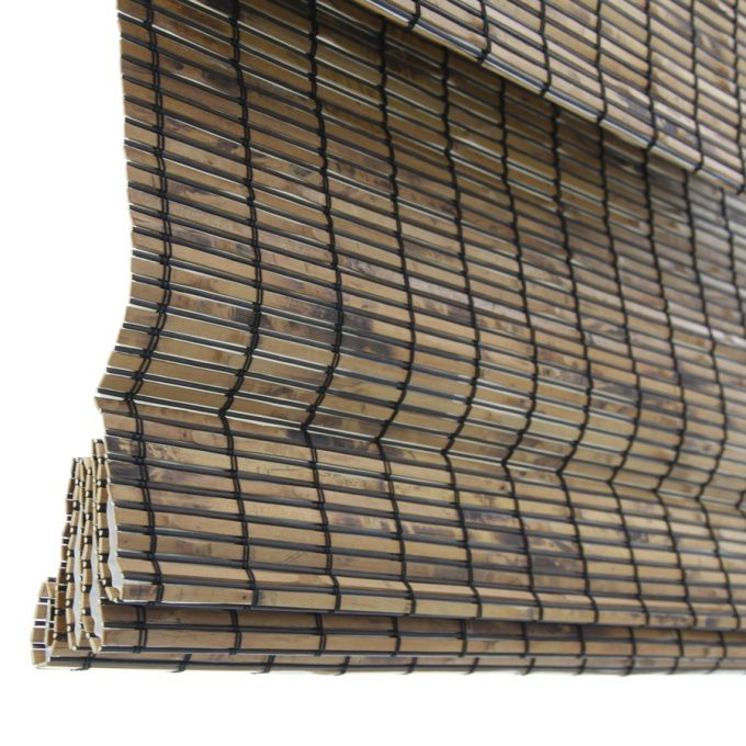 Stores en bambou/bois tissé de luxe 8427