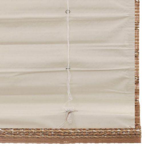 Stores en bambou/bois tissé de luxe plus 7244 Thumbnail