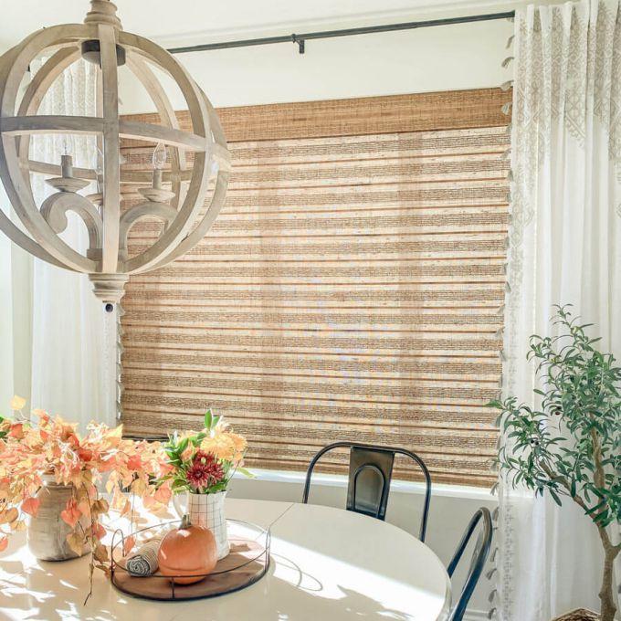 Stores en bambou/bois tissé de luxe plus 8620