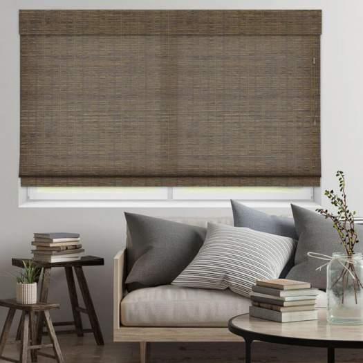 Stores en bambou/bois tissé de luxe plus 5346 Thumbnail