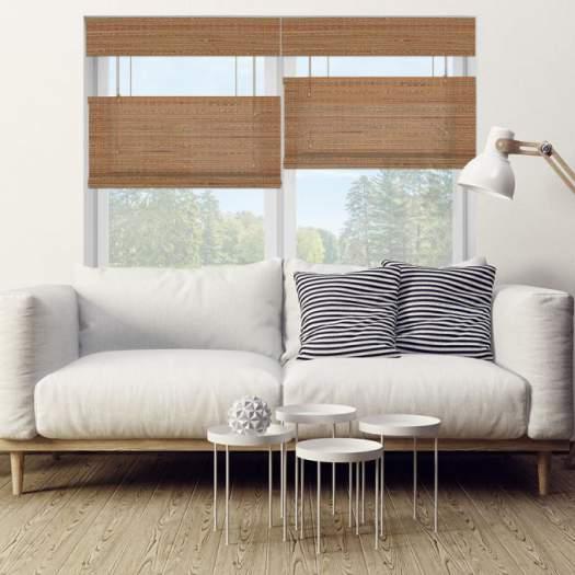 Stores en bambou/bois tissé de luxe plus 5347 Thumbnail