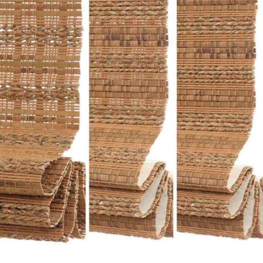 Stores en bambou/bois tissé de luxe plus 5349 Thumbnail