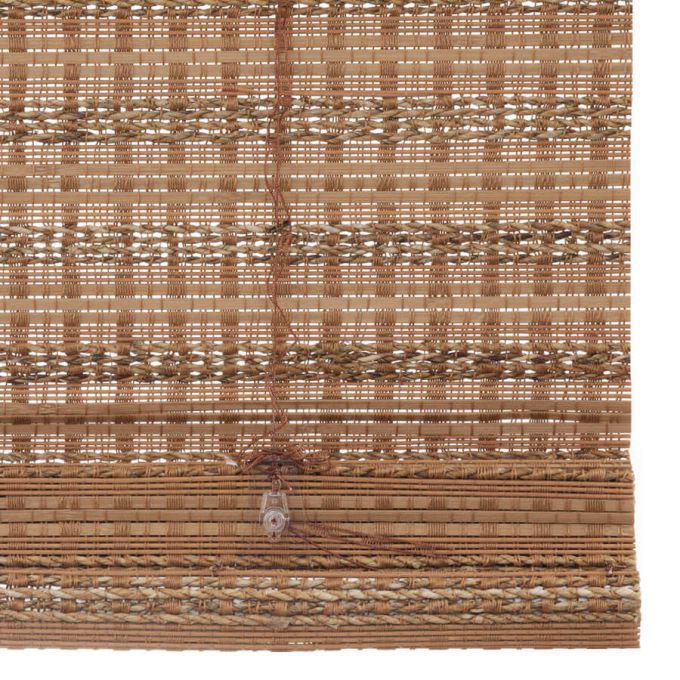 Stores en bambou/bois tissé de luxe plus 7242