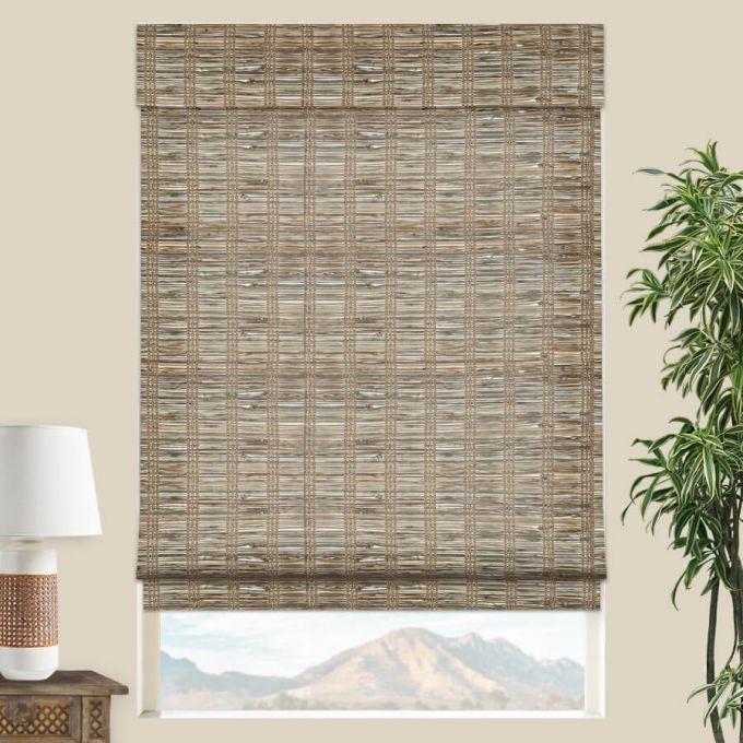 Stores en bambou/bois tissé de luxe plus